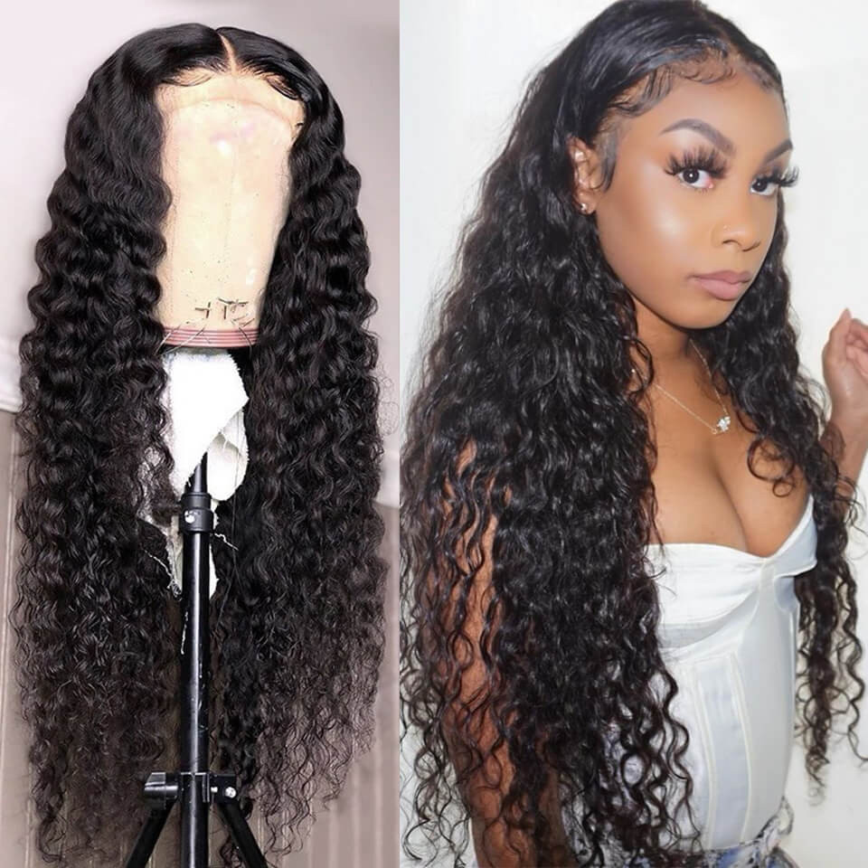 Loose Deep Wave 4 4 Lace Front Wigs Cheap Real Hair Wigs Asteriahair