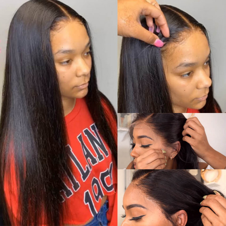 Hd Lace Wigs Straight Hair Hd Lace Frontal Wig For Black Women Asteriahair